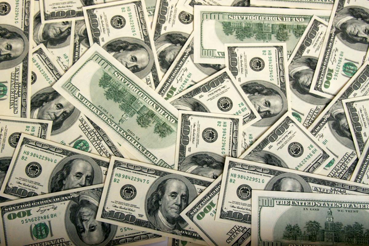 ドル あなたの 卓上